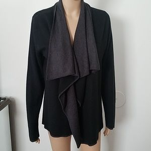 Calvin klein black cardigan. Size small. Pre-owned
